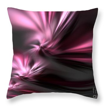 Velvet Angels Throw Pillow