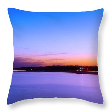 Throw Pillow featuring the photograph Velvet At Dusk by Brian Wright