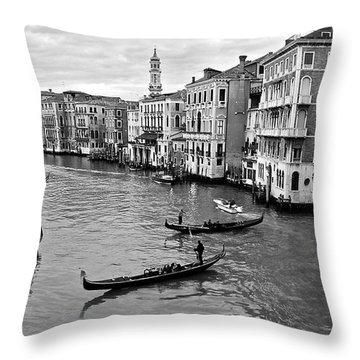 Throw Pillow featuring the photograph Venezia by Eric Tressler