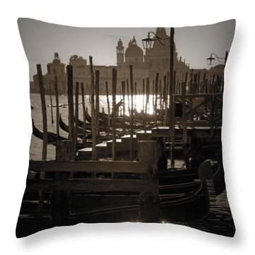 Venezia Throw Pillow by Joana Kruse