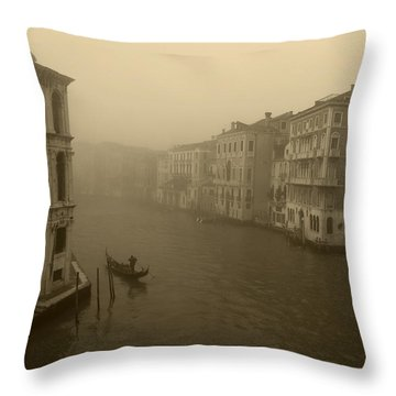 Throw Pillow featuring the photograph Venice by David Gleeson