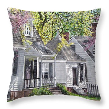 Vermont Summer Throw Pillow by Stuart B Yaeger
