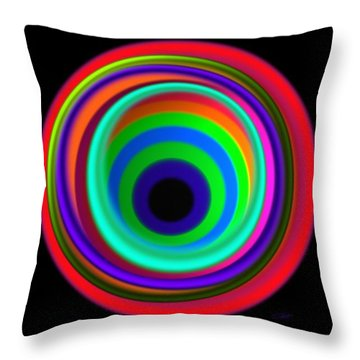 Vertigo Throw Pillow