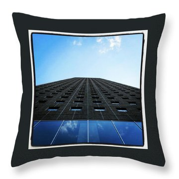 Vertigo? Throw Pillow by Hans Fotoboek