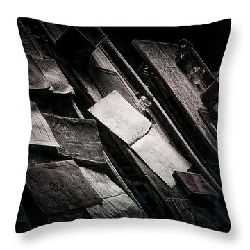 Vertigo Learning Throw Pillow by Empty Wall