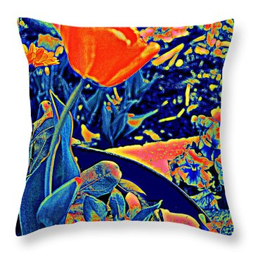 Vibrating Spring Throw Pillow