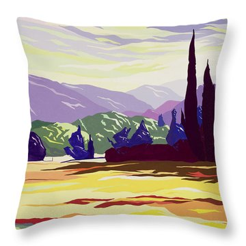 Vicopelago - Lucca Throw Pillow by Derek Crow