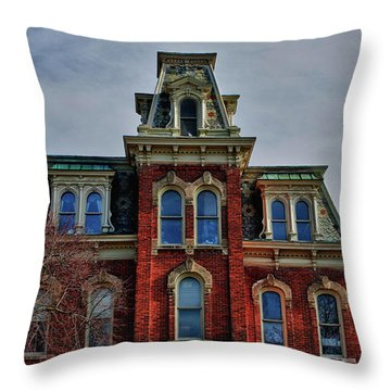 Throw Pillow featuring the photograph Victorian Beauty by Rachel Cohen