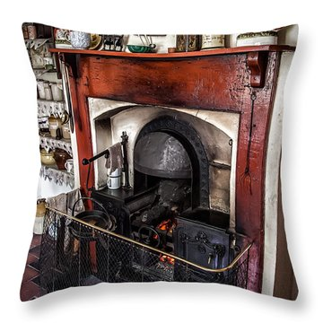 Victorian Range Throw Pillow by Adrian Evans