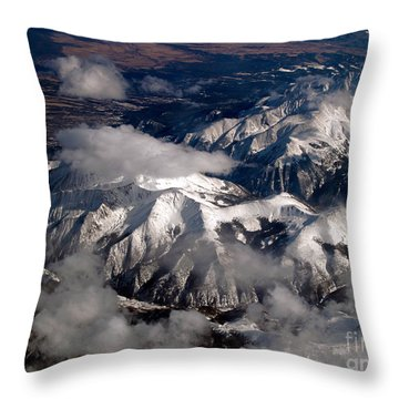 View From Above IIi Throw Pillow by Patricia Griffin Brett