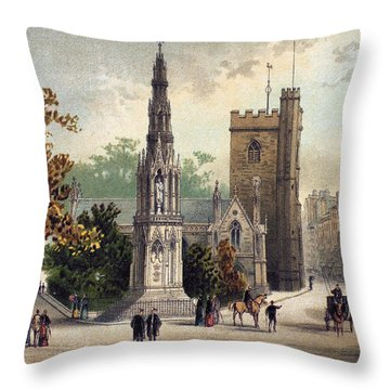 View Of Oxford, C1885 Throw Pillow by Granger