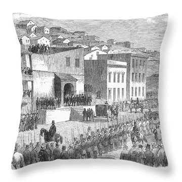 Vigilance Committee, 1856 Throw Pillow by Granger