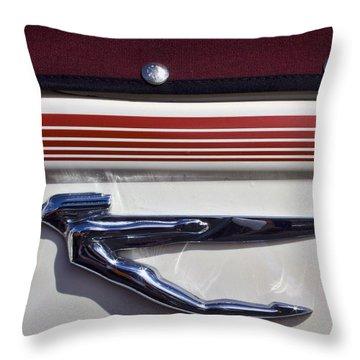Vintage Auburn Automobile Mascot Throw Pillow