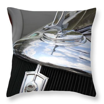 Vintage Studebaker Throw Pillow by Suzanne Gaff