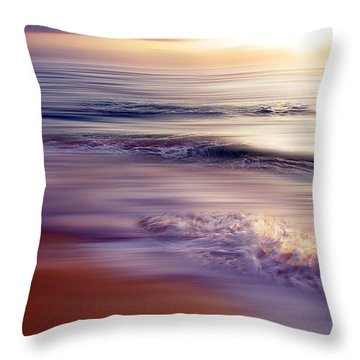 Violet Dream Throw Pillow by Hannes Cmarits