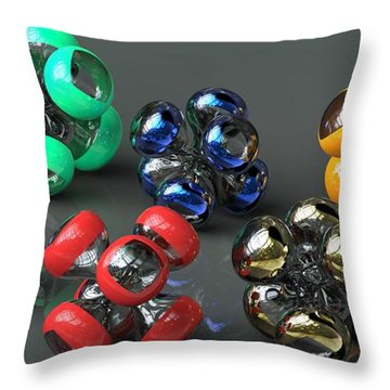 Virtual Jax Throw Pillow