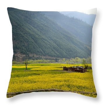 Visual Treat Throw Pillow by Fotosas Photography