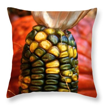 Vivid Agriculture Throw Pillow by Susan Herber