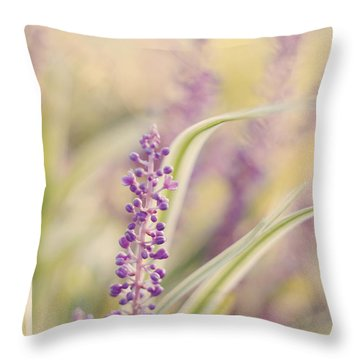 Voices Carry Throw Pillow by Amy Tyler