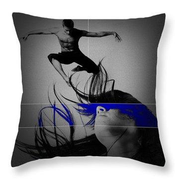 Voyage Throw Pillow by Naxart Studio