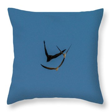 VY Throw Pillow