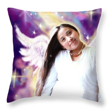 Wagner.angelic 2  Throw Pillow