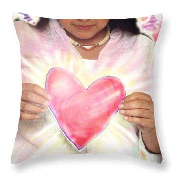 Wagner.angelic  Throw Pillow