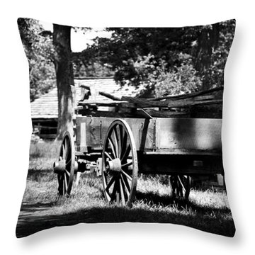 Wagon Throw Pillow
