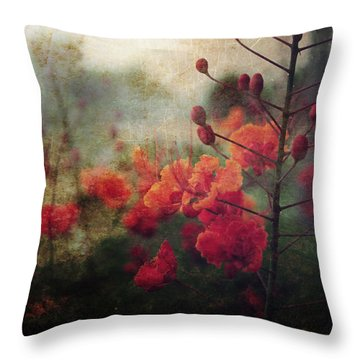 Waiting For Better Days Throw Pillow by Laurie Search