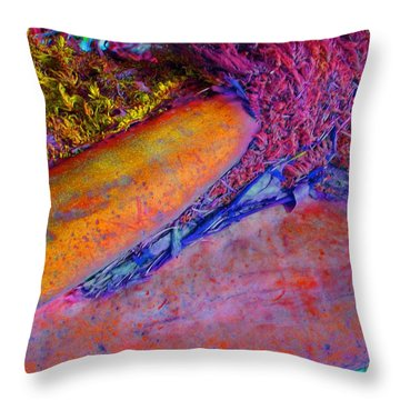 Throw Pillow featuring the digital art Waking Up by Richard Laeton