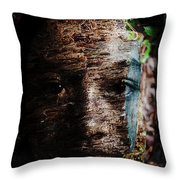 Waldgeist Throw Pillow by Christopher Gaston