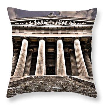Walhalla ... Throw Pillow by Juergen Weiss
