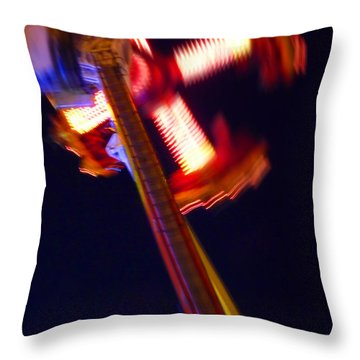 Walker Throw Pillow by Charles Stuart