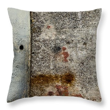 Wall Texture Number 10 Throw Pillow