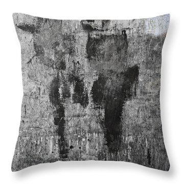 Wall Texture Number 13 Throw Pillow