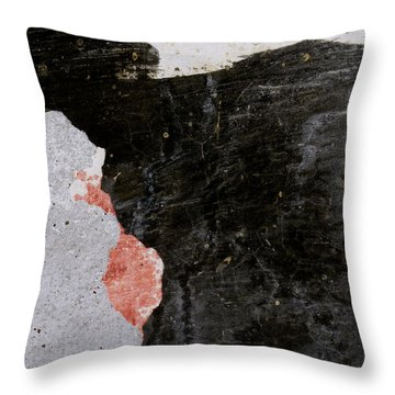 Wall Texture Number 6 Throw Pillow