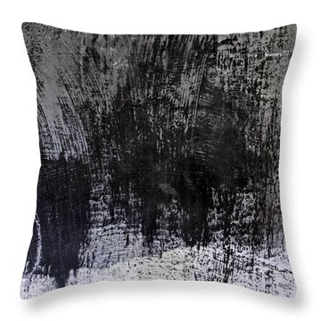 Wall Texture Number 7 Throw Pillow