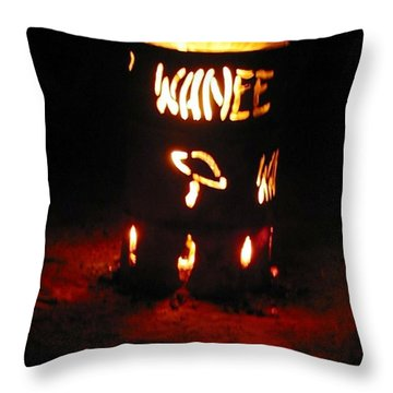 Wanee Fire Throw Pillow
