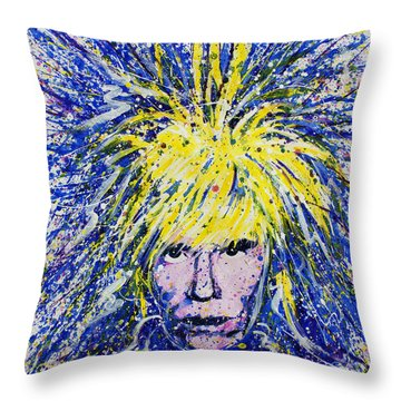 Warhol II Throw Pillow