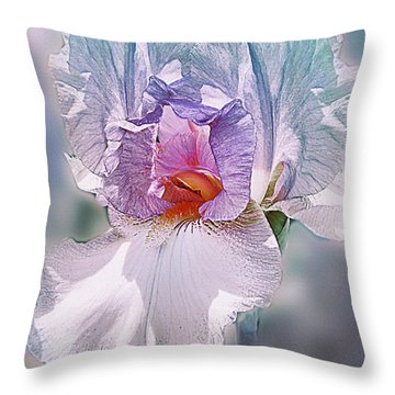 Throw Pillow featuring the digital art Warm Hearted by Mary Almond