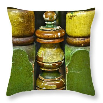 Warm With Human Touch Throw Pillow by Gwyn Newcombe