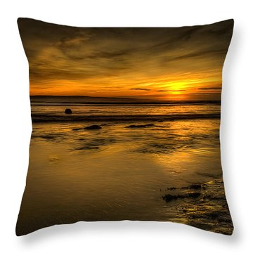 Warmth Of Light Throw Pillow by Svetlana Sewell