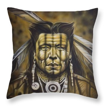 Warpath Throw Pillow