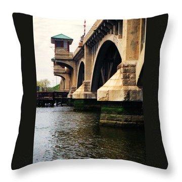 Washington Bridge Throw Pillow