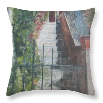 Watch Cat Throw Pillow