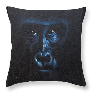 Throw Pillow featuring the painting Watch It by Annemeet Hasidi- van der Leij