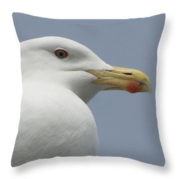 Watcher Being Watched Throw Pillow