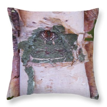 Throw Pillow featuring the photograph Watching You by Cindy Lee Longhini