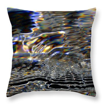 Water As Prism Throw Pillow
