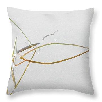 Water Garden 1 Throw Pillow by Bonnie Bruno